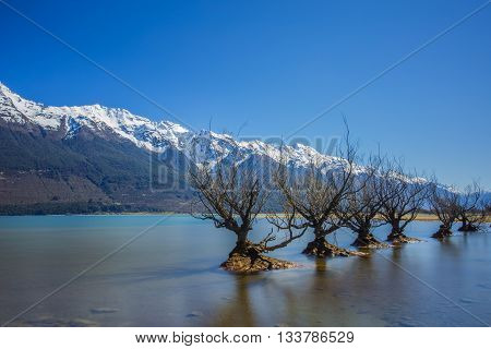 Glenorchy is a small settlement at the northern end of Lake Wakatipu in the South Island region of Otago New Zealand.