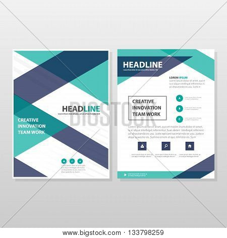 Purple green annual report Leaflet Brochure Flyer template design book cover layout design abstract business presentation template a4 size designct business presentation template a4 size design