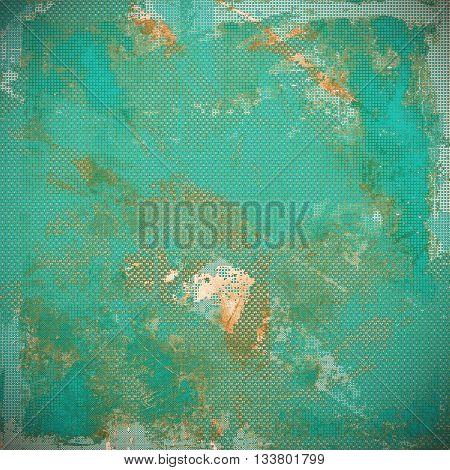 Hi res grunge texture or retro background. With different color patterns: yellow (beige); brown; green; blue; gray; cyan