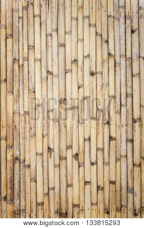 bamboo fence background.Bamboo flooring. The classical bamboo flooring.