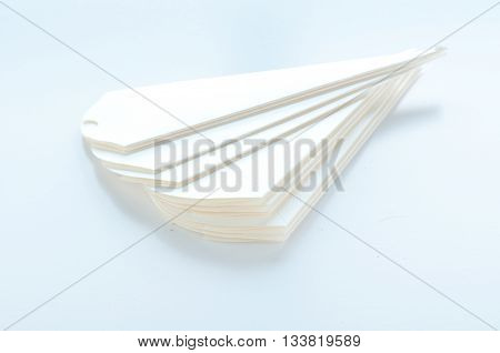 cones to hold sugared almonds on white background