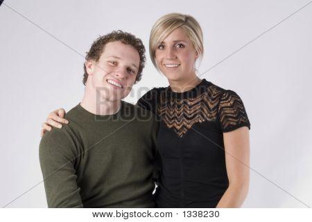 A Couple Posing