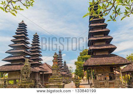 Ancient Pura Taman Ayun Temple, Bali, Indonesia