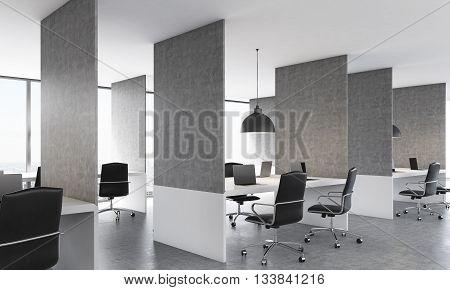 Concrete Coworking Office Design