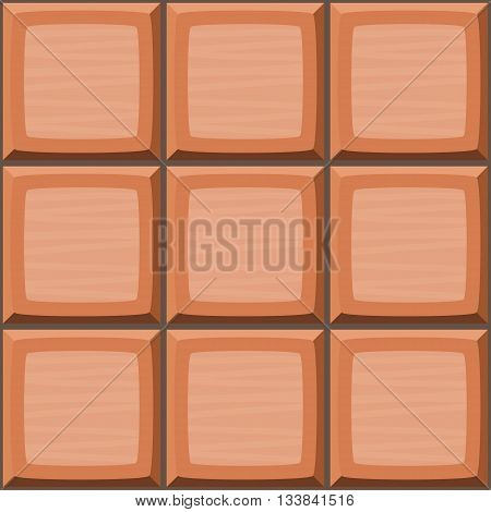 Cartoon Hand Drown Orange Seamless Decorative Tiles Texture