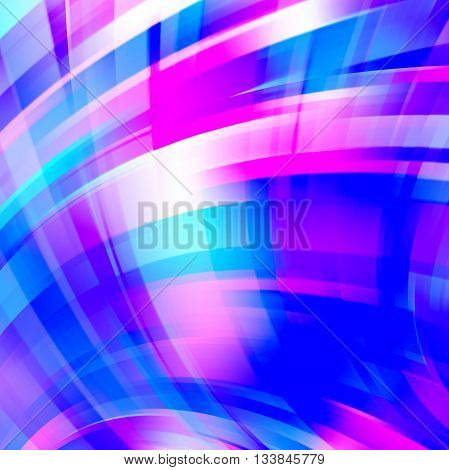 Abstract Technology Background Vector Wallpaper. Stock Vectors Illustration. Blue, Pink, White Color