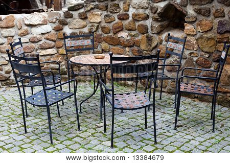 Cafe Furniture Constrained