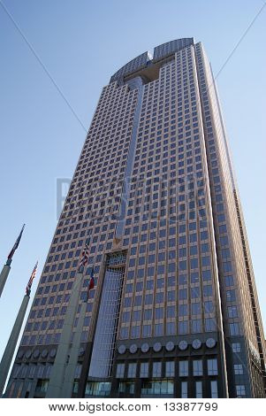 Skyscraper in Dallas Texas