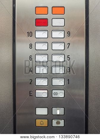 Lift Keypad Detail