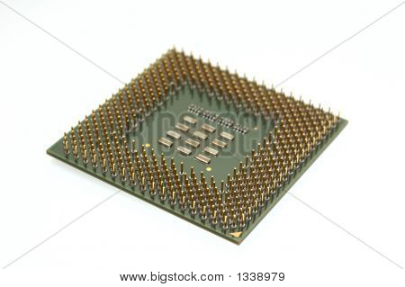 Close-Up Of A Processor