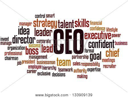 Ceo - Chief Executive Officer, Word Cloud Concept 4