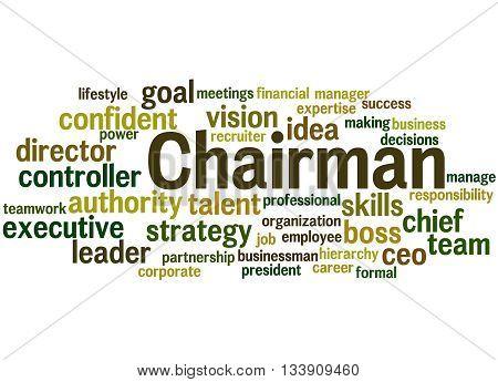 Chairman, Word Cloud Concept 7