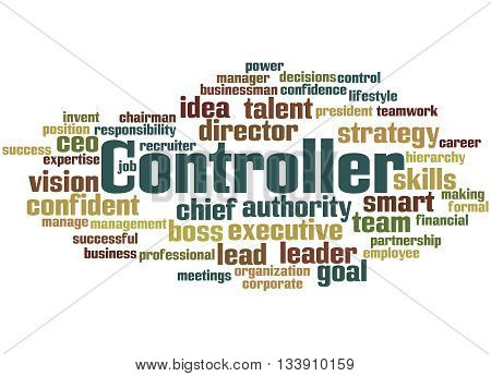 Controller, Word Cloud Concept 3