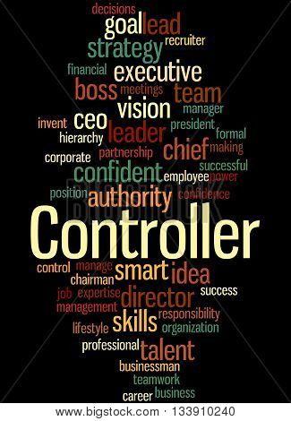 Controller, Word Cloud Concept 5