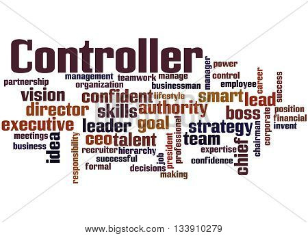 Controller, Word Cloud Concept 7