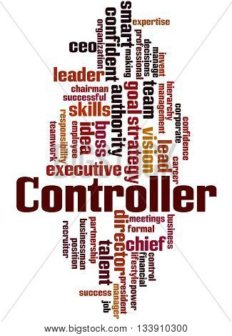 Controller, Word Cloud Concept 8