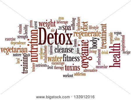Detox, Word Cloud Concept 9