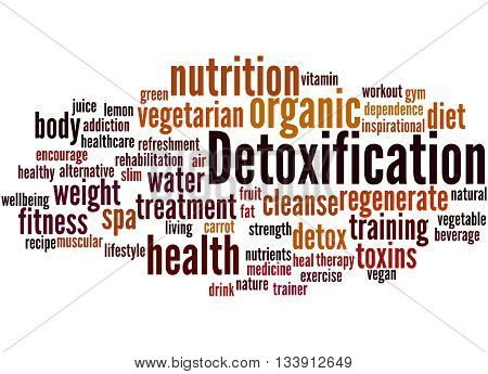 Detoxification, Word Cloud Concept 9