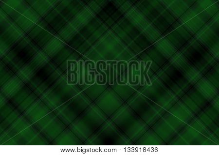 Dark green and black checkered illustration with diagonal lines