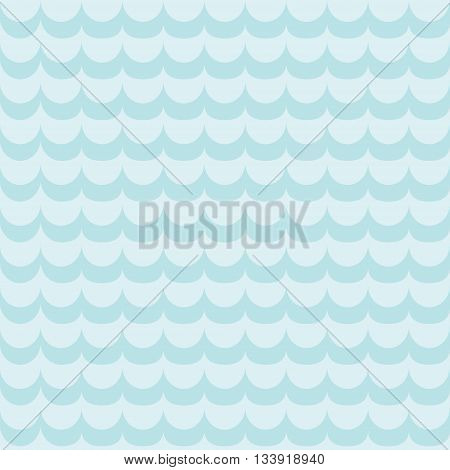 Abstract seamless pattern with waves. For cards, invitations, wedding, travel or baby shower albums, wallpapers, backgrounds and scrapbooks. Art vector Illustration.