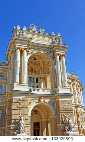 Odessa National Academic Theatre of Opera and Ballet, Odessa, Ukraine