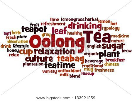 Oolong Tea, Word Cloud Concept 4