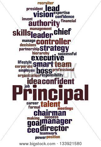 Principal, Word Cloud Concept 2