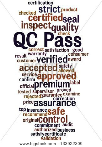 Qc Pass, Word Cloud Concept 6