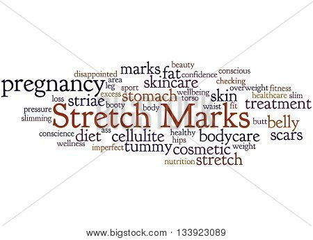Stretch Marks, Word Cloud Concept 2