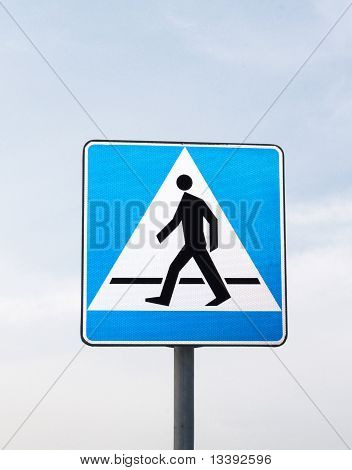 Road Signs: Pedestrian Crossing