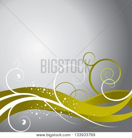 Abstract Floral Background for print or web use