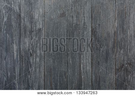Grey wood texture and background. Grey blue wood texture background. Rustic, old wooden background. Aged wood planks texture pattern. Wooden surface. Vertical timber planks