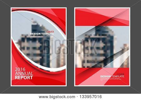 A4 size, abstract flat layout wave and straight lines elements marketing business corporate design template. eps10 vector