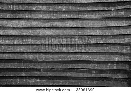 vintage wood wall texture and background in black and white