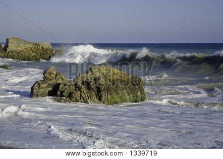 Beach Boulder 2