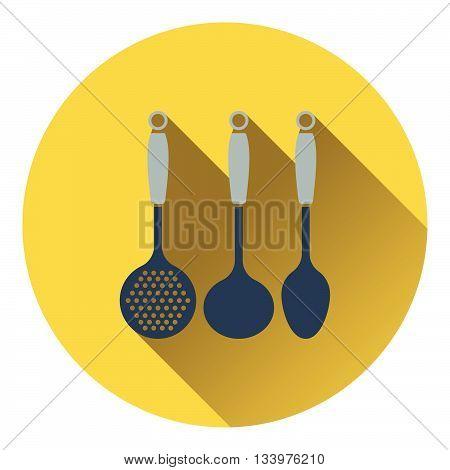 Ladle Set Icon