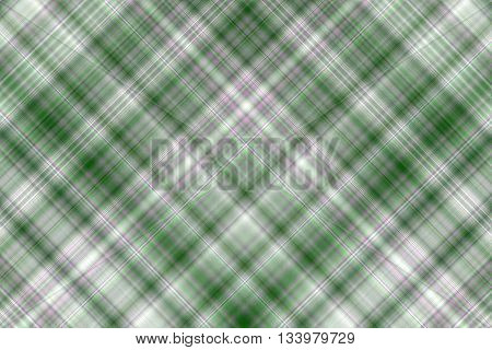 Dark green and white checkered illustration with diagonal lines