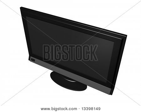 Big flat wide screen