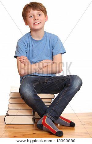 Learning schoolboy