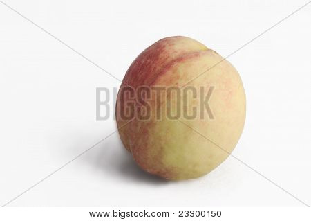 Isolated Peach