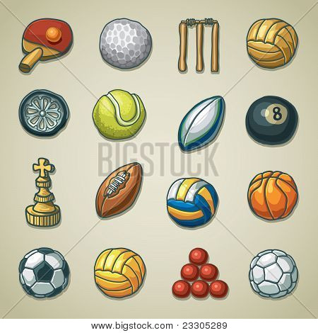 Freehands icons - sports
