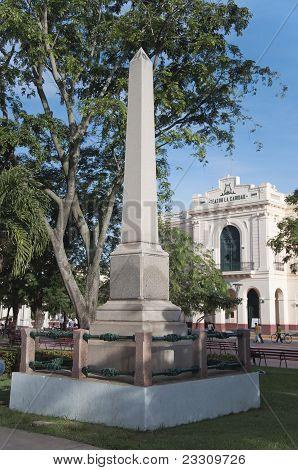 Two Monuments. Santa Clara, Cuba.