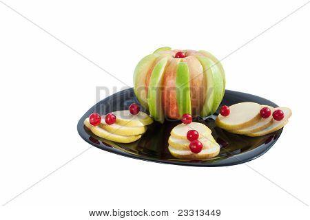The fruit dessert
