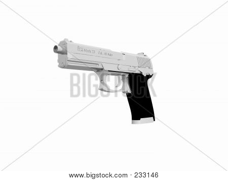Hk-mk 23 Handgun.