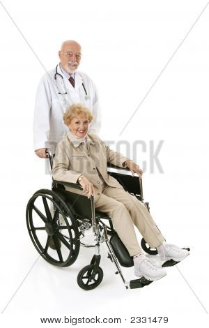 Wheelchair Senior & Doc