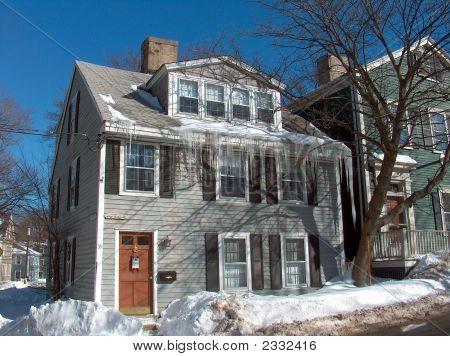 Winter  In Marblehead, Massachusetts