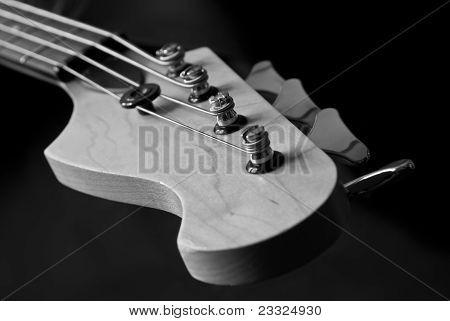Guitar Head Closeup