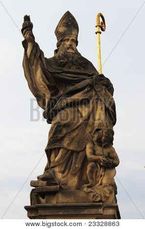 Saint Augustine statue