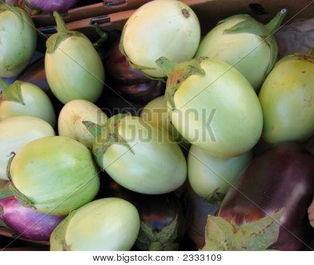 Ovoid Eggplants