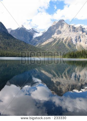 Reflections On Emerald Lake - Yoho National Park, British Columbia, Canada